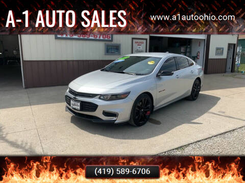2018 Chevrolet Malibu for sale at A-1 AUTO SALES in Mansfield OH