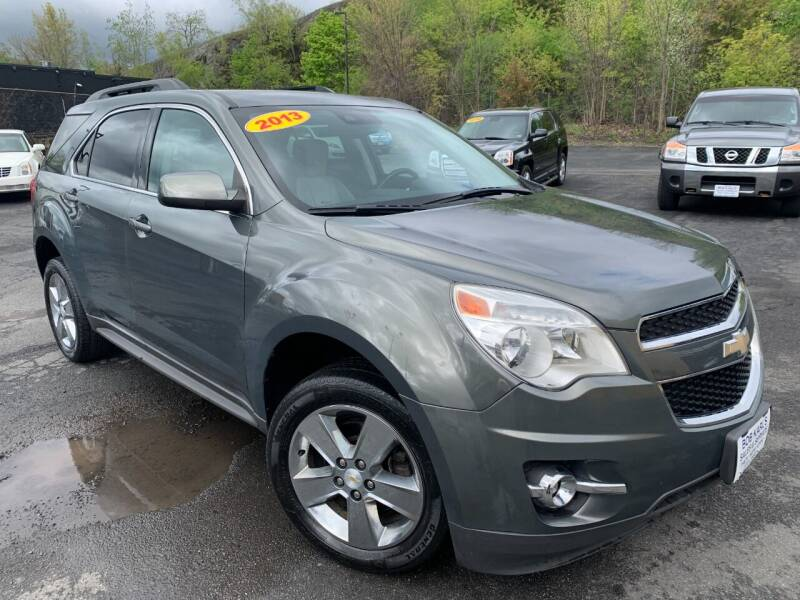 2013 Chevrolet Equinox for sale at Bob Karl's Sales & Service in Troy NY