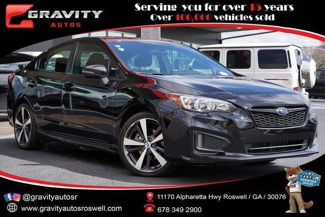 2018 Subaru Impreza for sale at Gravity Autos Roswell in Roswell GA