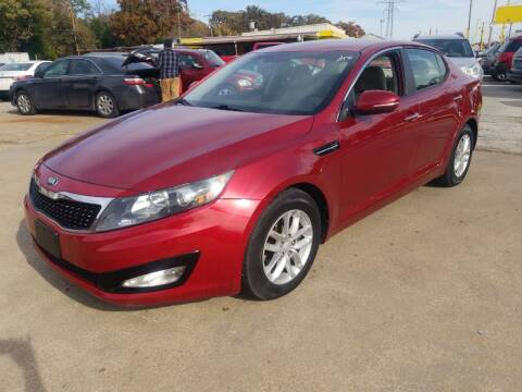 2013 Kia Optima for sale at Nile Auto in Fort Worth TX