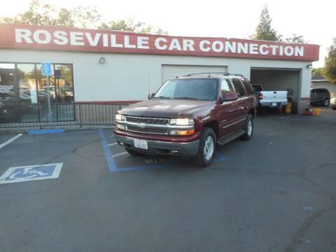 2004 Chevrolet Tahoe for sale at ROSEVILLE CAR CONNECTION in Roseville CA