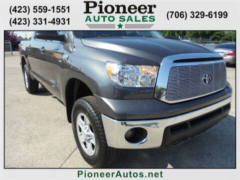 2011 Toyota Tundra for sale at PIONEER AUTO SALES LLC in Cleveland TN