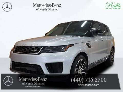 2020 Land Rover Range Rover Sport for sale at Mercedes-Benz of North Olmsted in North Olmstead OH