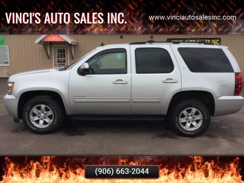 2011 Chevrolet Tahoe for sale at Vinci's Auto Sales Inc. in Bessemer MI