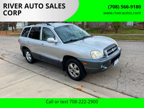 2005 Hyundai Santa Fe for sale at RIVER AUTO SALES CORP in Maywood IL
