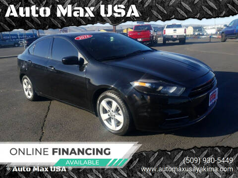 2016 Dodge Dart for sale at Auto Max USA in Yakima WA