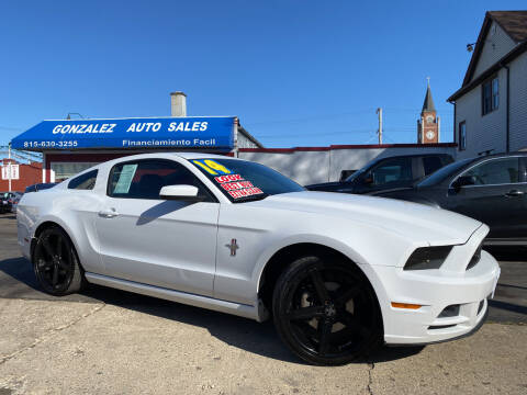 2014 Ford Mustang for sale at Gonzalez Auto Sales in Joliet IL