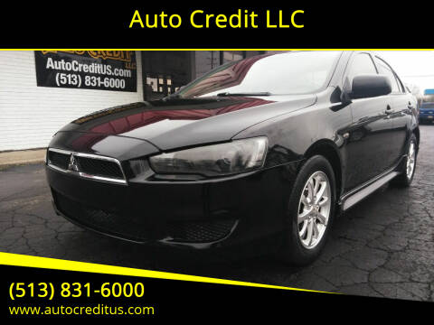 2012 Mitsubishi Lancer for sale at Auto Credit LLC in Milford OH