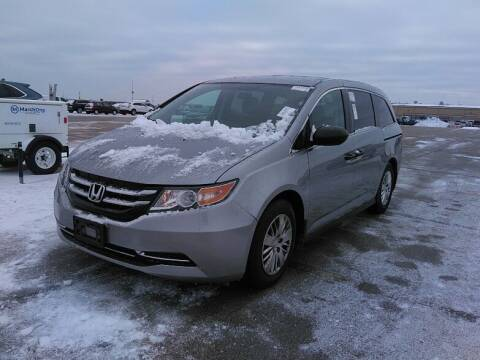 2016 Honda Odyssey for sale at NORTH CHICAGO MOTORS INC in North Chicago IL