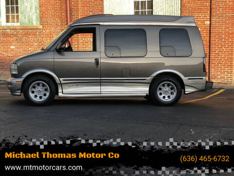 2004 GMC Safari for sale at Michael Thomas Motor Co in Saint Charles MO