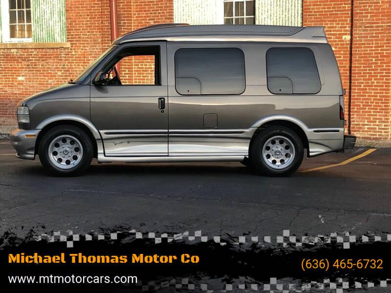 2004 GMC Safari for sale at Michael Thomas Motor Co in Saint Charles MO