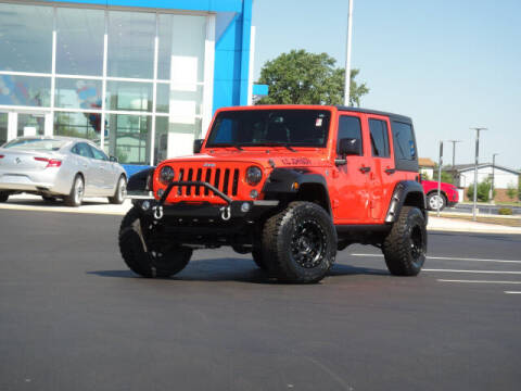 2015 Jeep Wrangler Unlimited for sale at Jack Schmitt Chevrolet Wood River in Wood River IL