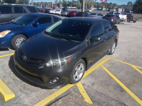 2013 Toyota Corolla for sale at ORANGE PARK AUTO in Jacksonville FL