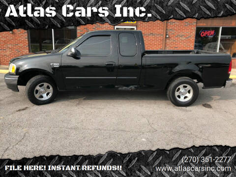 2002 Ford F-150 for sale at Atlas Cars Inc. in Radcliff KY