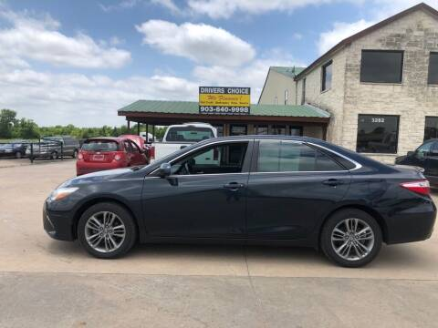 2016 Toyota Camry for sale at Driver's Choice in Sherman TX