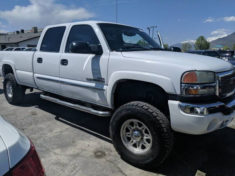 2004 GMC Sierra 2500HD for sale at PLANET AUTO SALES in Lindon UT