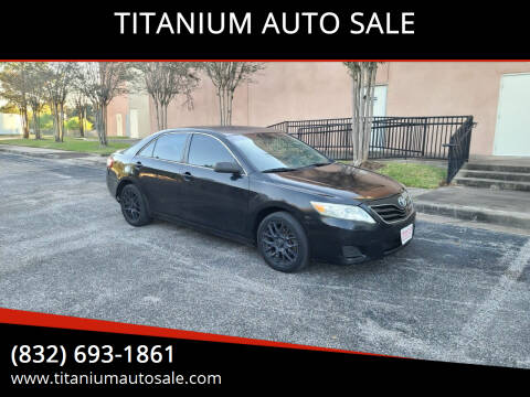 2010 Toyota Camry for sale at TITANIUM AUTO SALE in Houston TX
