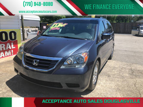 2010 Honda Odyssey for sale at Acceptance Auto Sales Douglasville in Douglasville GA