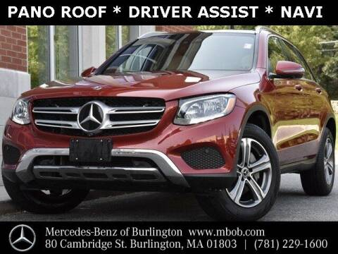 2018 Mercedes-Benz GLC for sale at Mercedes Benz of Burlington in Burlington MA