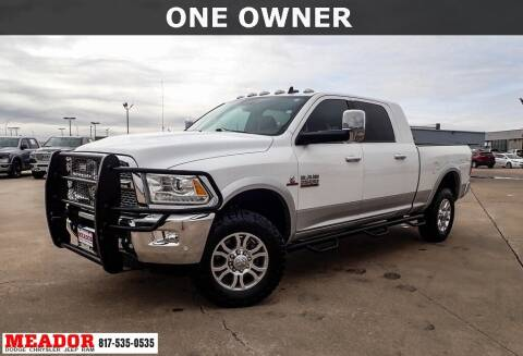 2016 RAM Ram Pickup 2500 for sale at Meador Dodge Chrysler Jeep RAM in Fort Worth TX