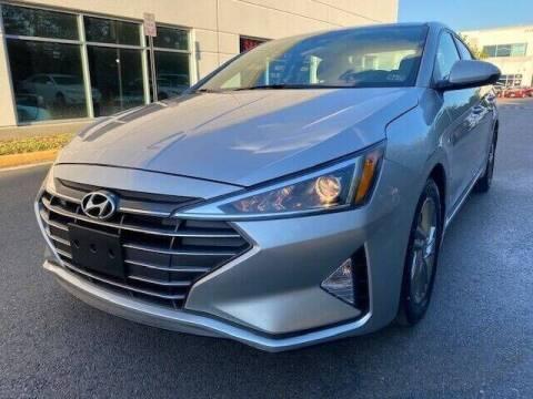 2020 Hyundai Elantra for sale at Pleasant Auto Group in Chantilly VA