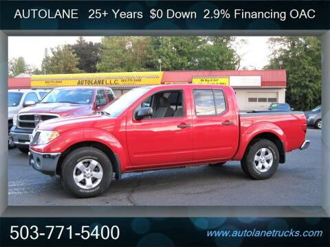 2010 Nissan Frontier for sale at Auto Lane in Portland OR