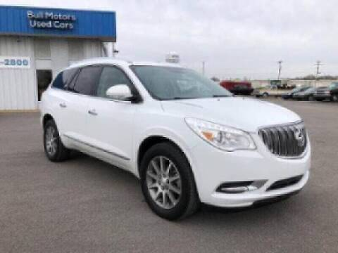 2016 Buick Enclave for sale at BULL MOTOR COMPANY in Wynne AR