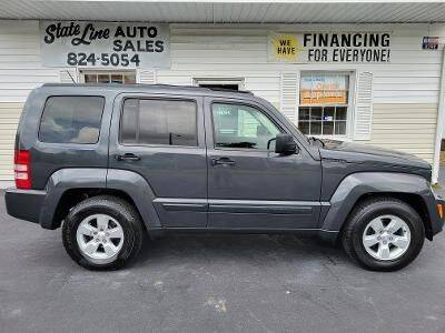 2010 Jeep Liberty for sale at STATE LINE AUTO SALES in New Church VA