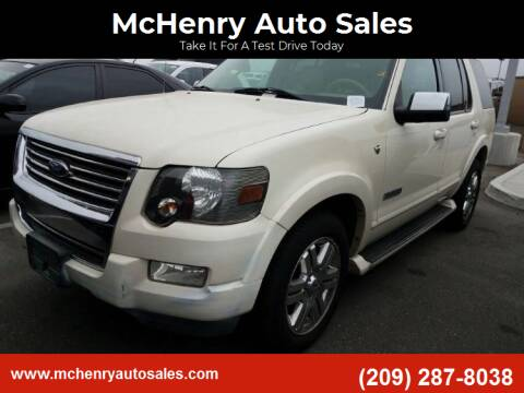 2007 Ford Explorer for sale at McHenry Auto Sales in Modesto CA