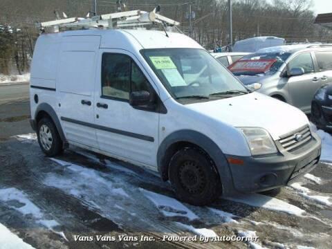 2013 Ford Transit Connect for sale at Vans Vans Vans INC in Blauvelt NY