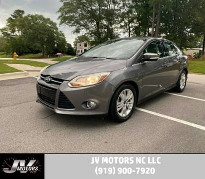 2012 Ford Focus for sale at JV Motors NC LLC in Raleigh NC