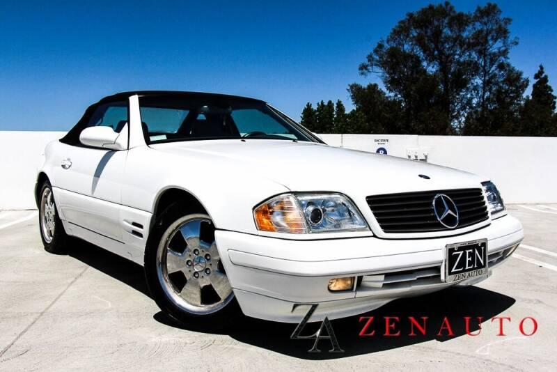 1999 Mercedes-Benz SL-Class for sale at Zen Auto Sales in Sacramento CA