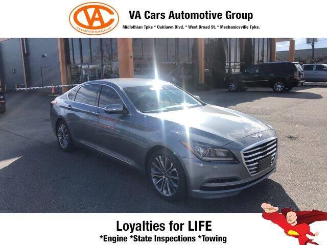 2016 Hyundai Genesis for sale at VA Cars Inc in Richmond VA