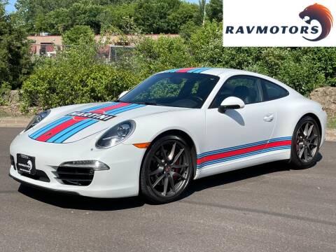 2013 Porsche 911 for sale at RAVMOTORS in Burnsville MN