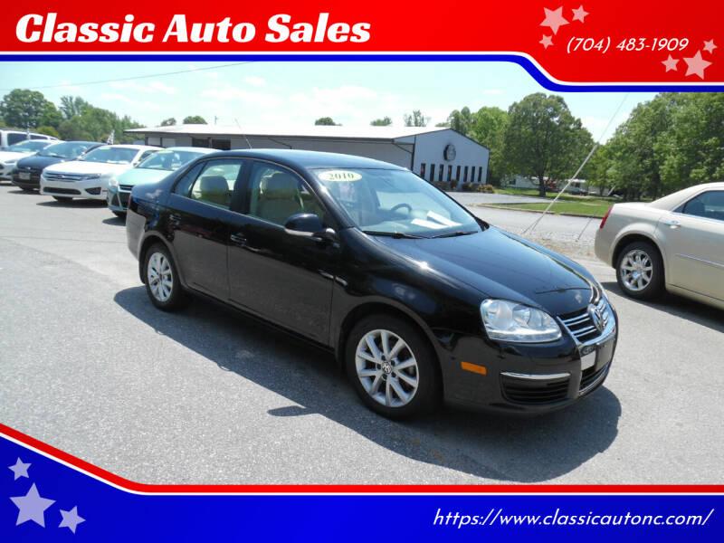 2010 Volkswagen Jetta for sale at Classic Auto Sales in Maiden NC