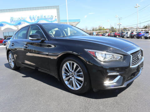 2018 Infiniti Q50 for sale at RUSTY WALLACE HONDA in Knoxville TN