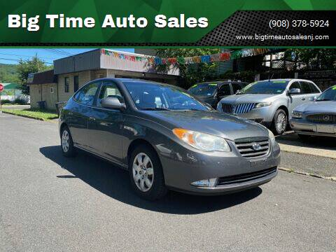 2008 Hyundai Elantra for sale at Big Time Auto Sales in Vauxhall NJ