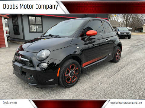 2015 FIAT 500e for sale at Dobbs Motor Company in Springdale AR