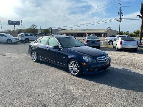 2012 Mercedes-Benz C-Class for sale at Lucky Motors in Panama City FL