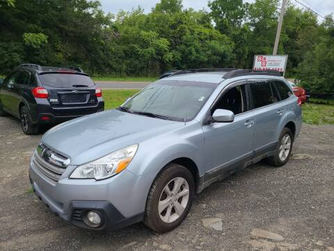 2013 Subaru Outback for sale at B & B GARAGE LLC in Catskill NY