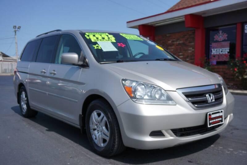 2007 Honda Odyssey for sale at Premium Motors in Louisville KY
