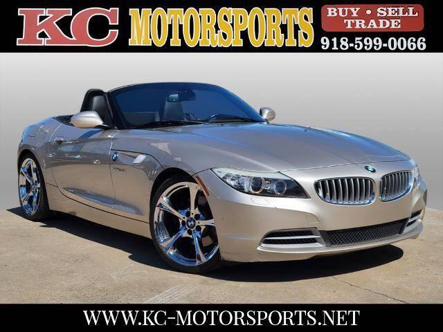 2009 BMW Z4 for sale at KC MOTORSPORTS in Tulsa OK