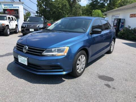 2016 Volkswagen Jetta for sale at Sports & Imports in Pasadena MD