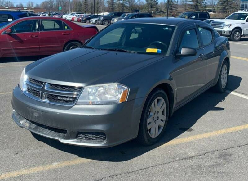 2012 Dodge Avenger for sale at GLOVECARS.COM LLC in Johnstown NY