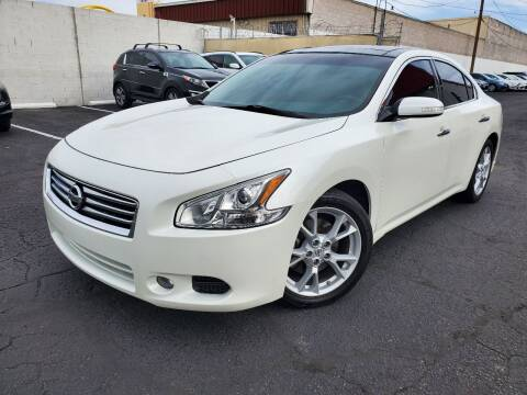 2014 Nissan Maxima for sale at Auto Center Of Las Vegas in Las Vegas NV