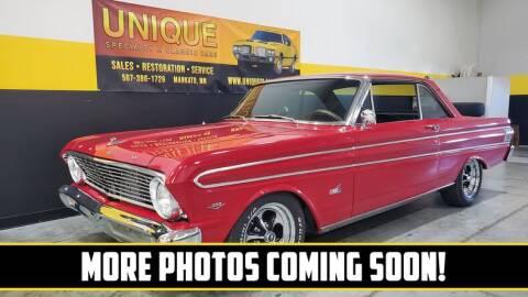 1964 Ford Falcon for sale at UNIQUE SPECIALTY & CLASSICS in Mankato MN