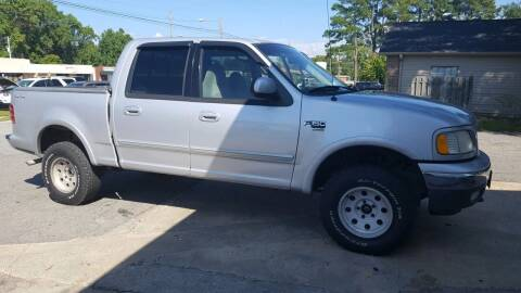 2001 Ford F-150 for sale at PIRATE AUTO SALES in Greenville NC