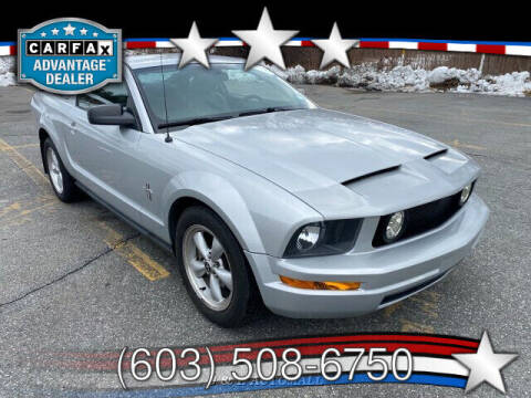 2008 Ford Mustang for sale at J & E AUTOMALL in Pelham NH