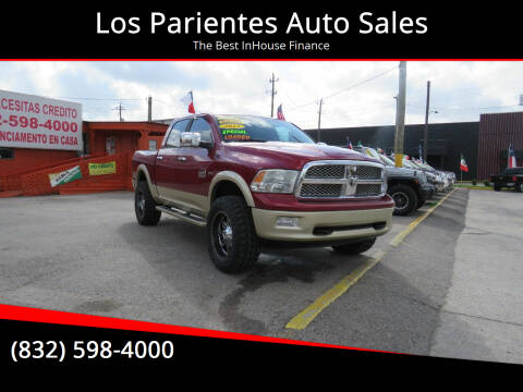 2012 RAM Ram Pickup 1500 for sale at Los Parientes Auto Sales in Houston TX