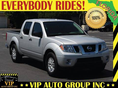 2018 Nissan Frontier for sale at VIP Auto Group in Clearwater FL